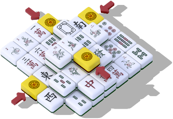 Mahjong tutorial step 3